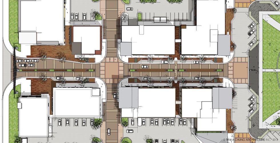 main street enlarged plan. Black Bedroom Furniture Sets. Home Design Ideas
