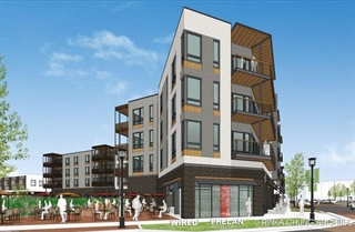 A Second Apartment Complex Within Dts Is The 167 Unit Emerald Row Apartments Which Was Roved In Late January By Plan Commissioners